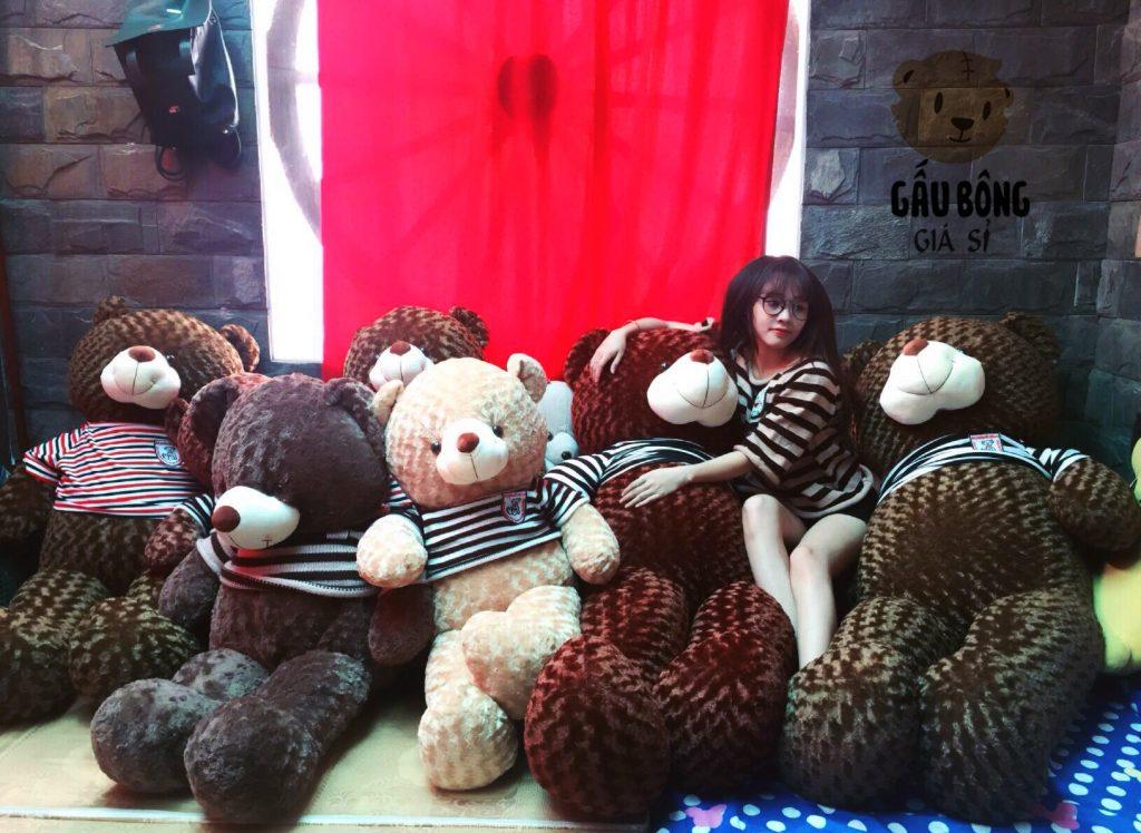 Shop Gấu Bông Giá Rẻ TpHcm, Xưởng phân phối sỉ và lẻ Gấu Teddy cho các cửa hàng gấu bông toàn thành phố và các tỉnh thành.Shop Gấu Bông Giá Rẻ